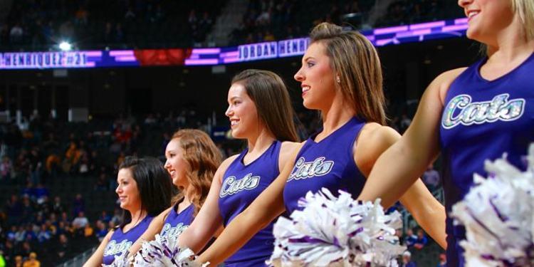 Kansas State Wildcats Cheerleaders