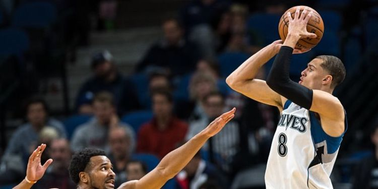 Minnesota Timberwolves  player in action