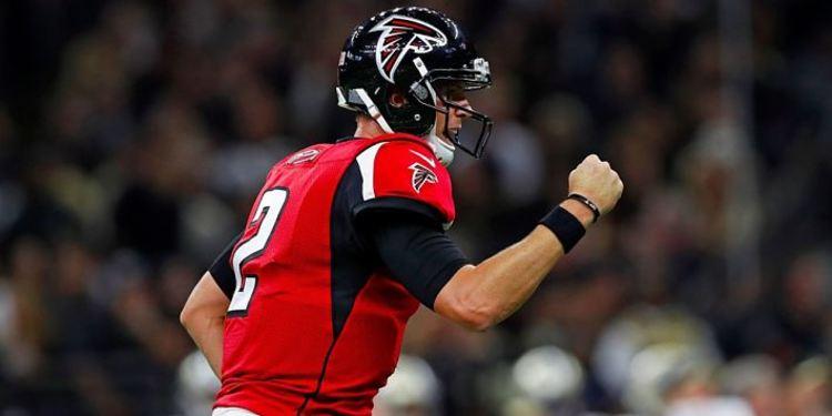Falcons player Matt Ryan