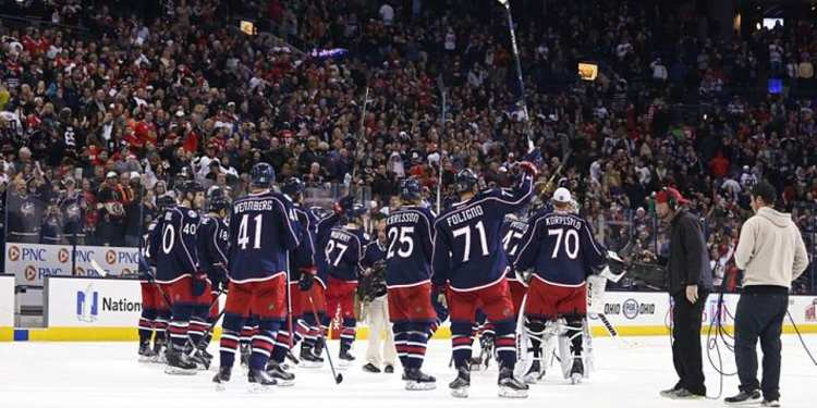 Columbus Blue Jackets players