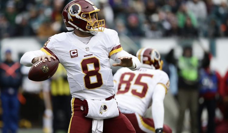 Washington Redskins player in action