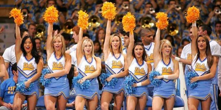 UCLA Bruins Cheerleader