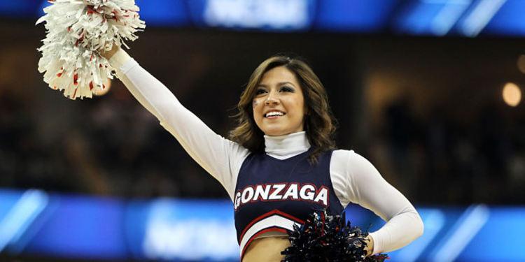 Gonzaga Cheerleader