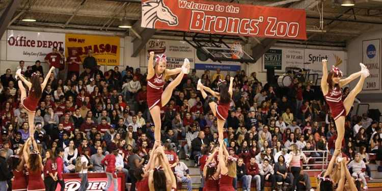 Rider Broncs Cheerleaders