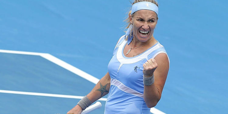 Tennis player Svetlana Kuznetsova