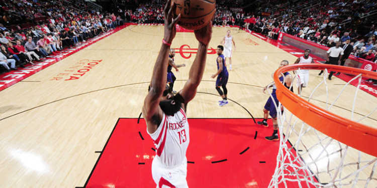 Houston Rockets player in action