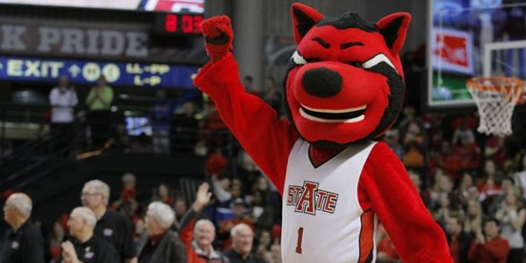 Arkansas State Red Wolves mascot