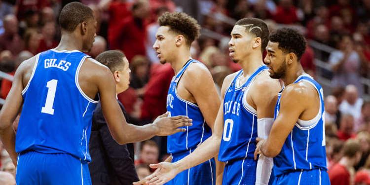 Duke Blue Devils players