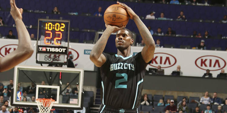 Charlotte Hornets player in action
