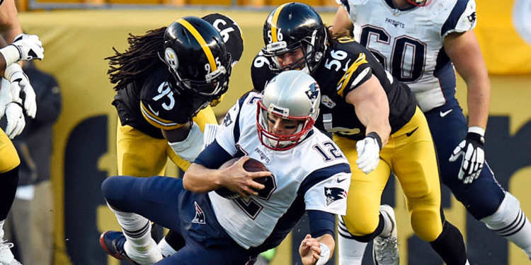 Pittsburgh Steelers vs New England Patriots game