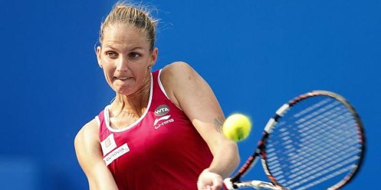 Tennis player Karolina Pliskova