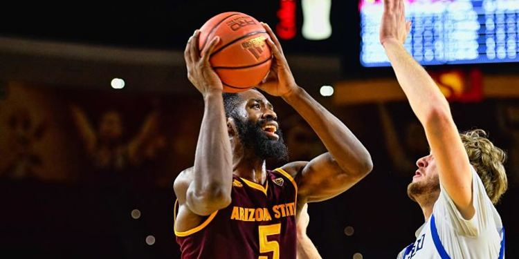 Arizona State Sun Devils player in action