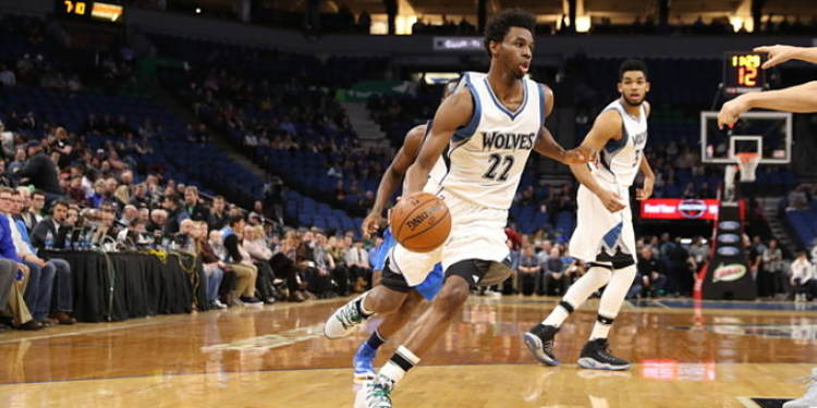 Minnesota Timberwolves  players in action