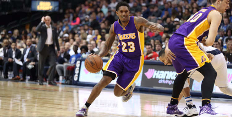 L.A. Lakers player in action