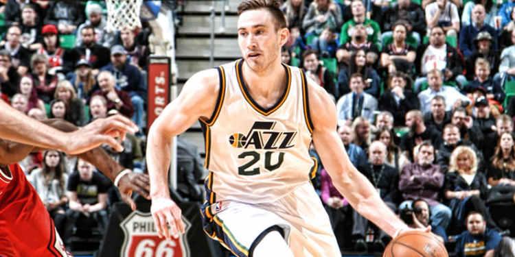 Utah Jazz player in action