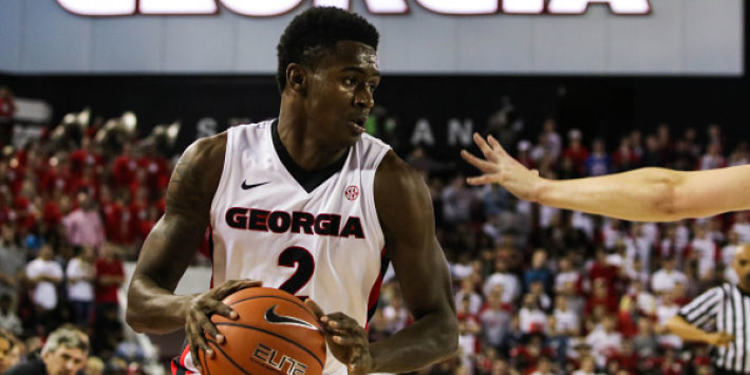 Georgia Bulldogs player in action