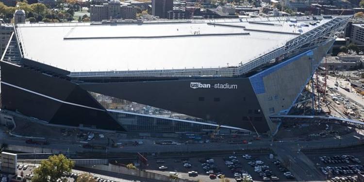 US Bank Stadium in Minneapolis