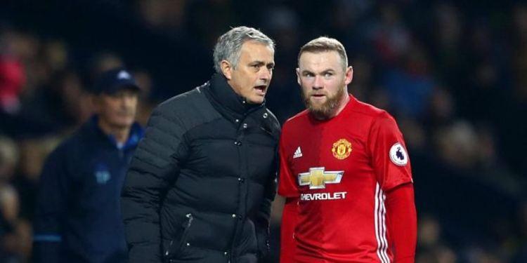 Wayne Rooney & Mourinho