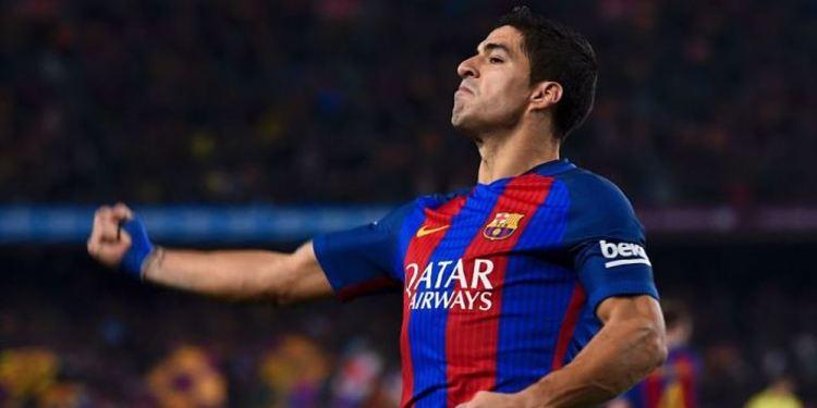 FC Barcelona player celebrating