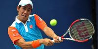 Tennis player Kei Nishikori