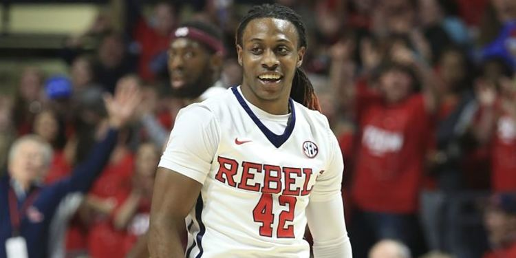 Ole Miss Basketball Player