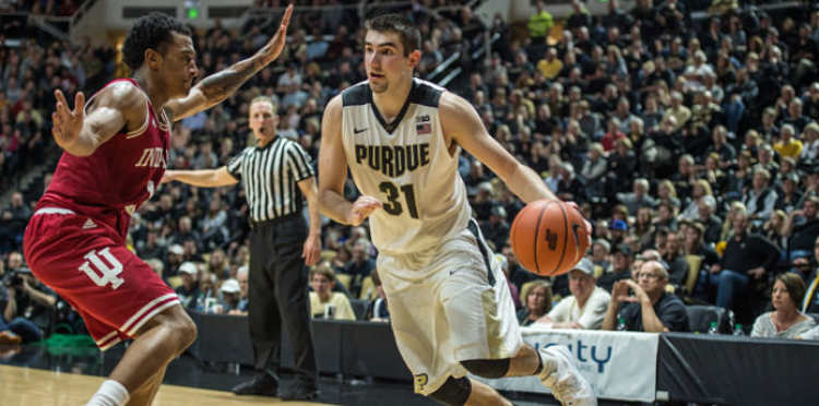 Purdue Boilermakers player in action