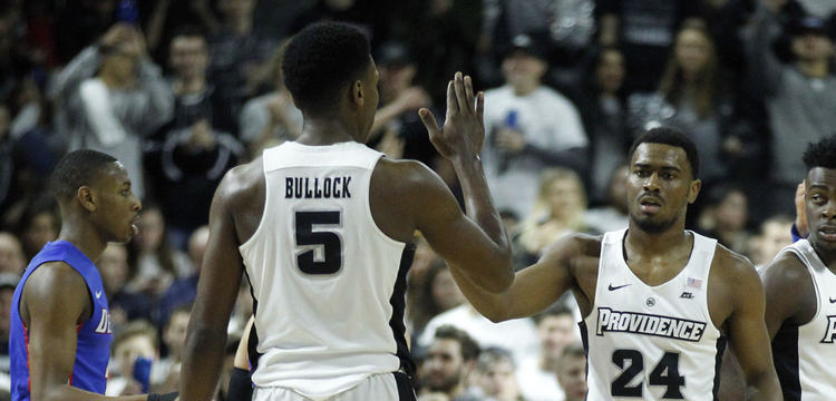 Providence Friars players in action