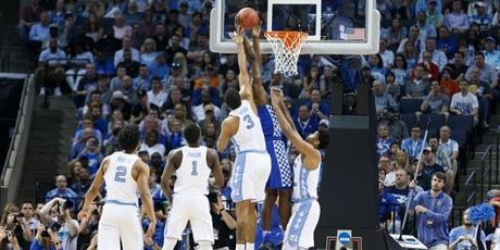 North Carolina Tar Heels players in action