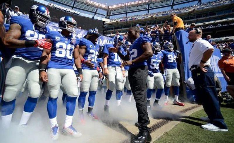 63ebd13e Thursday Night Football Opening Odds for Giants vs. Redskins ...