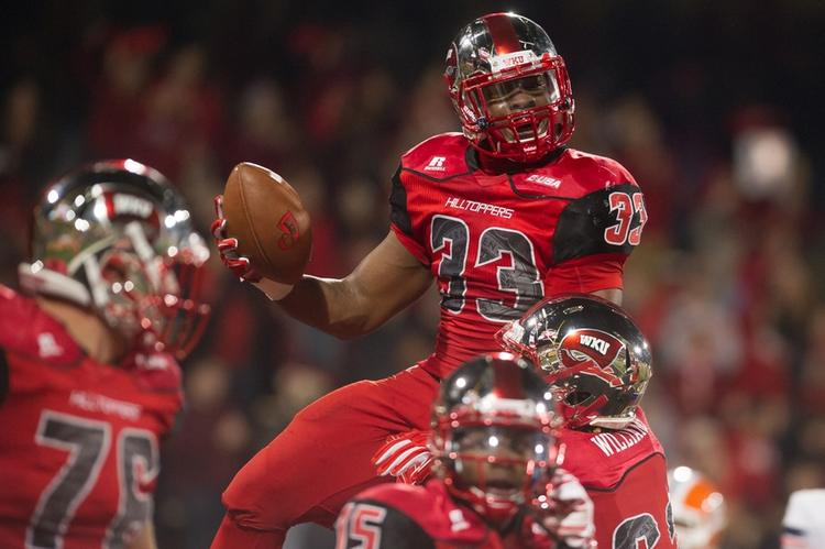 Western Kentucky Hilltoppers Odds