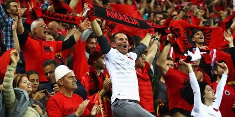 Albania soccer fans