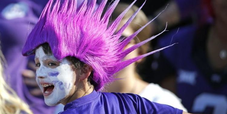 TCU Horned Frogs fan