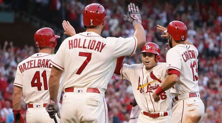 St. Louis Cardinals Celebrate Another Home Run