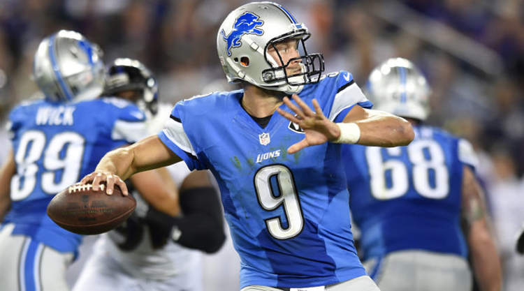 Matthew Stafford Launching a Rocket