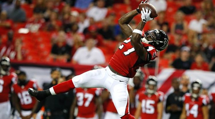 Atlanta Falcons WR Makes Great Catch