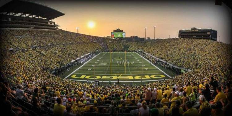 Oregon Ducks Home Field