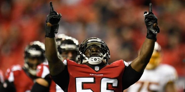 Atlanta Falcons Linebacker Sean Weatherspoon