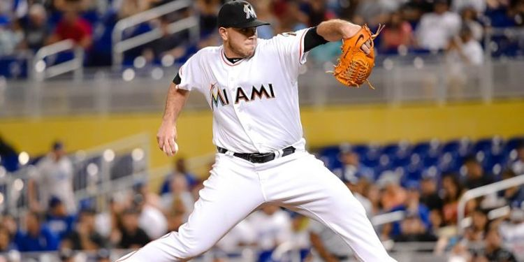 Pitcher Jose Fernandez in Action