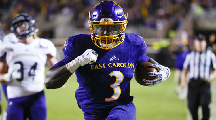 East Carolina Pirates RB