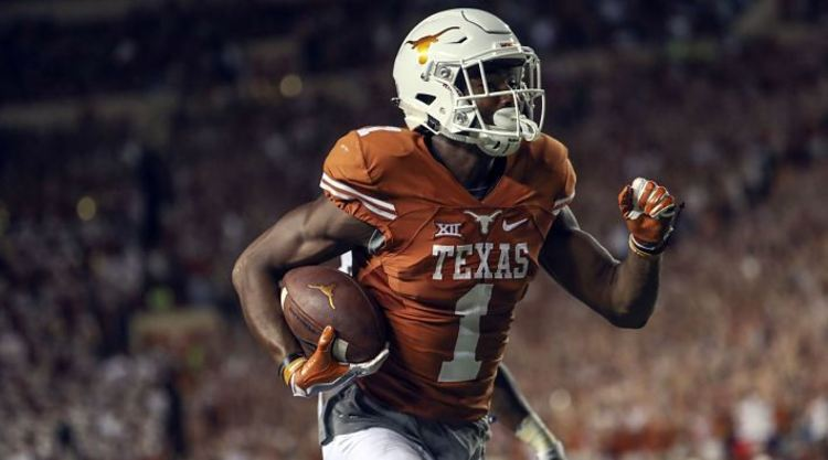 Texas Longhorns Player Scores TD