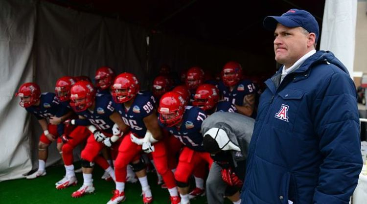 Arizona Wildcats Get Ready For A Game