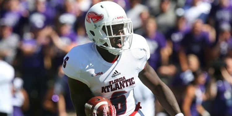 Florida Atlantic player during a game