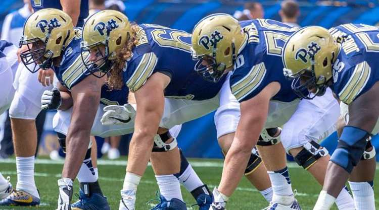 Pittsburgh Panthers Line Of Scrimmage