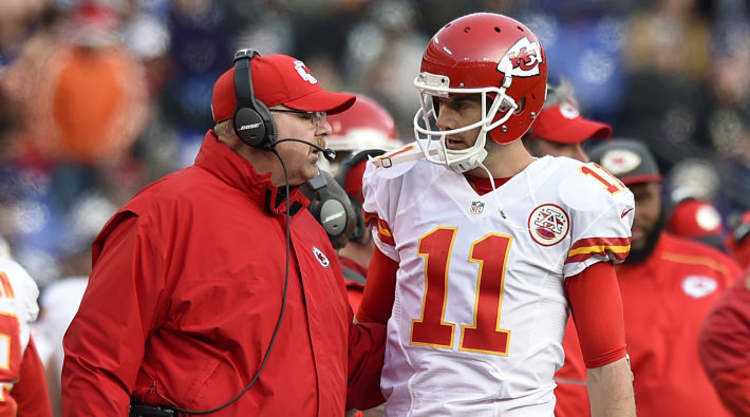KC Chiefs QB and Coach talk