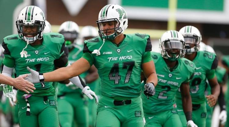 Marshall Thundering Herd Players