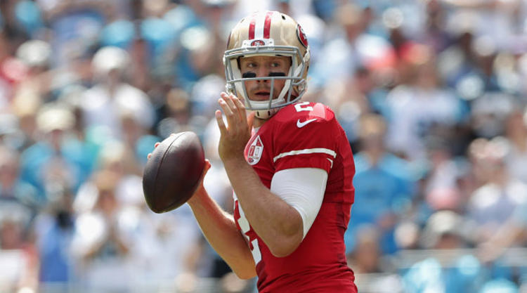 Blaine Gabbert Passing The Football