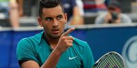 Tennis player Nick Kyrgios