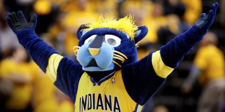 Indiana Pacers' Mascot