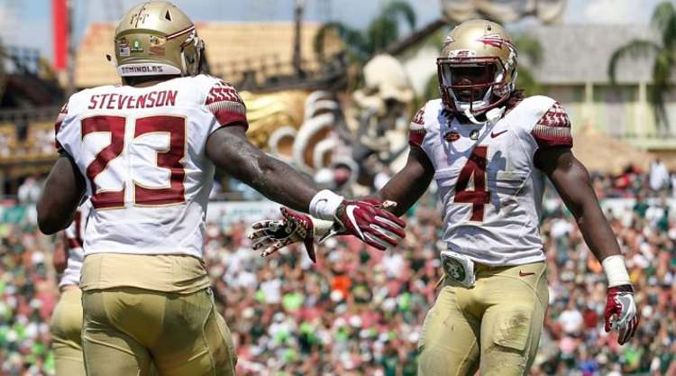 Florida St. Seminoles Salute Each Other