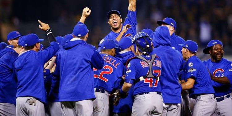 CH Cubs team celebrating